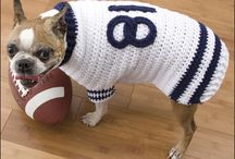 Doggie sweaters! / all doggie sweaters to inspire me to knit for my doggie! / by Dianne Shiozaki