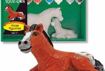 Kids Horsey Toys & Gifts / Fun horsey items for children! Find much more at www.chicksaddlery.com
