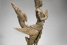 Wood carving and wooden sculpture