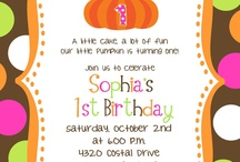 Pumpkin Patch Birthday Party / by Sara Cross