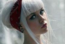 all shades of: WHITE/BLOND hair / cabelo branco, cinza ou loiro