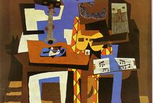 Cubism / Is an early 20th century avant-garde movement - the first style of abstract art - considered the most influential art movement of the 20th century. The movement was pioneered by George Braque and Pablo Picasso. A primary influence that led to Cubism was the representation of three-dimensional form in the late works of Paul Cézanne. In the Cubism artwork, objects are broken up and reassembled in an abstract form,   to represent the subject in a greater context.