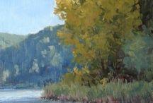 pittura di paesaggio