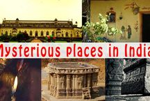 Mysterious places in India that would amaze you / There are mysterious places that would amaze you as you travel to far corners of the country to explore these mythical destinations. These unusual places offer a glimpse into their historical past as you listen to the stories about their existence.