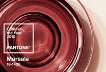 LIFESTYLE MARSALA / Pantone Colour Of The Year 2015