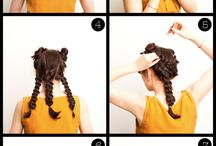 hair picks abd make up tricks! / by Jessica Waters
