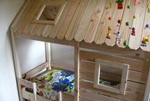 Construire lits enfants