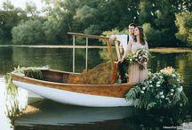 Фотосессия на лодке