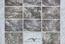 Sky overlays/backgrounds