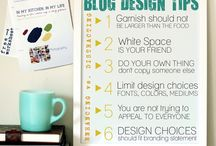 BLOGGING / Blog ideas and fonts. Ways to be successful at blogging.