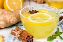 Bebidas  y comidas saludables