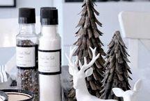 *} Seasonal Themes ~ Monochrome Christmas