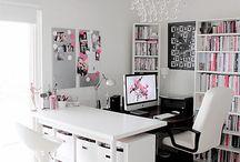 Work Spaces / by Gail Shapiro Designs