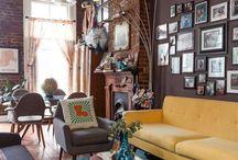 Retro Interiors and Furniture