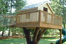 tree cubby houses