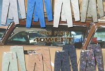 Chino Pants.. the History / The history of Chino Pants from military gear to everyday garments!