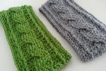 Ear warmer crochet