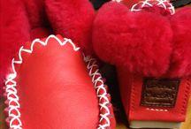 Fair dinkum Moccies / Hand made Australian sheepskin footwear