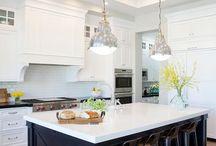 Cabinets kitchen colour combos
