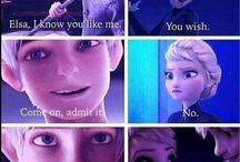 Jack Frost n' Elsa