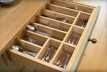 Space organizing / Kitchen stuff