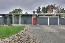 Eichler Style / Homes by Joseph Eichler, Cliff May, The Streng Brothers, William Krisel and their contemporaries. / by Modwalls Tile