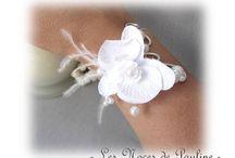 Mariage bijoux et accessoires de créateurs / Bijoux et accessoires de mariage créateurs