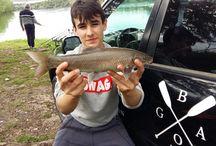 Dias de pesca / Días de pesca con nuestro deporte favorito