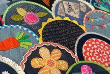 Potholder Quilt / Ideas for a potholder quilt
