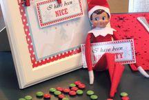 Elf on a shelf  / by Evie Becker