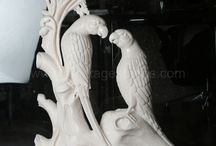 Sculptures / Huge range of Stone Sculptures with pixel perfect carving, in many colors and custom designs.