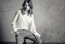 ROSNER Kampagne 2015 / Die Rosner Avantgarde Mode GmbH, Ingolstadt, startet mit einer neuen Kampagne in die Saison Herbst/Winter 2015. Gesicht der neuen Rosner Herbst/Winter Kollektion ist das niederländische Model Sophie Vlaming (Foto), fotografiert wurde die neue Kampagne von der Münchner Fotografin Anja Frers.