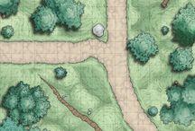 D&D random encounter maps