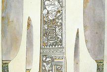 středověký nůž