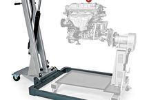 Workshop Crane / Werkstattkran / Cars, Auto, Engine, Motor, Boat, Boot, LKW, Truck