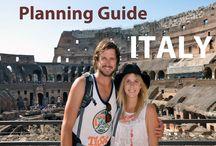 Italy Travel / Italy Travel Inspiration