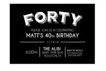 Josh's 40th Birthday Party