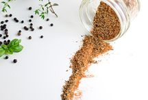 Spices, Marinades and Sauces