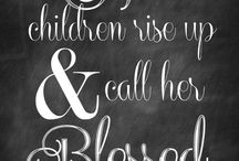 Chalkboard prints / by Teresa Hunt