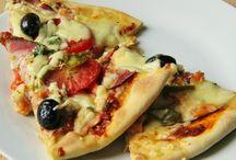 Pizza, placky, slané koláče,osúchy