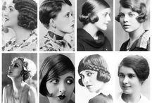 История моды волос