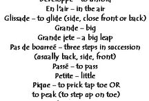Dance terms