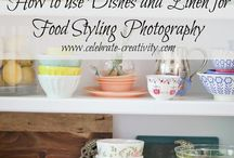 Food styling photography