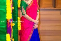 Half sarees & skirt
