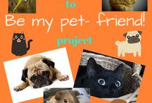 Be my pet- friend! / This is a wall for eTwinning project entitled Be my pet- friend! September-June 2016/2017