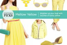 Trend We Love: Yellow / Brighten up your look with touches of sunny yellow from Queen Kaahumanu Center merchants.