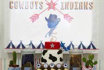 Cowboys & Indians Theme Birthday