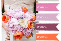 Orange, Pink, Purple / Inspiration for combining these colors.