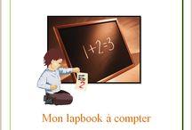 Mon lapbook à compter / Lapbook sur les chiffres, pour les plus jeunes, de l'Association Carpe Diem