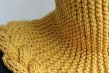 шарфЫ и горловины